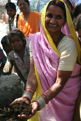 Kamla's vermi-compost
