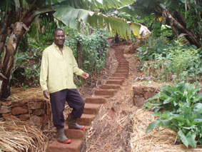 Small scale Zimbabwean farmer