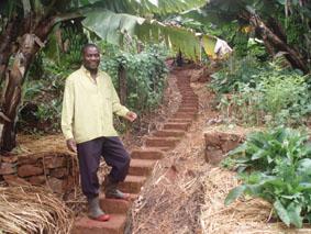 Small scale Zimbabwean farmer