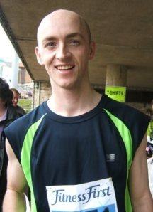 Brighton Marathon runner Phil Case
