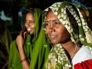 Woman in Varanasi, India